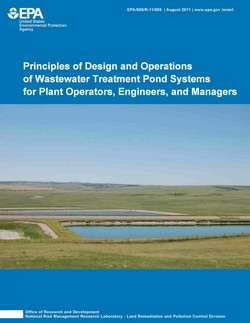 Wastewater treatment ponds shaffers engineering and for Design of waste stabilization pond systems